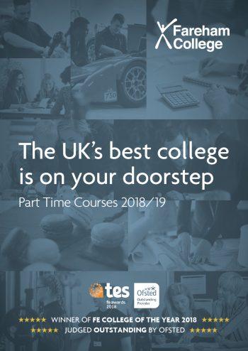 Fareham College Part Time Courses