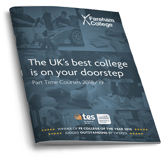 prospectus for part time college courses, short courses and distance learning