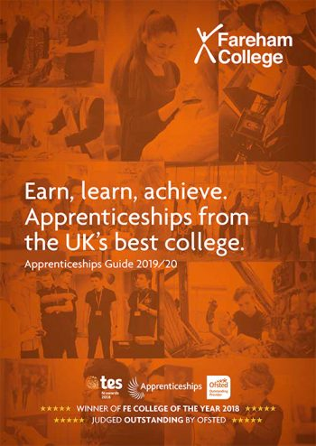 Apprenticeship Brochure Cover