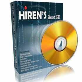 اسطوانة هيرنز بوت الغنية عن التعريف Hiren's BootCD 14.0