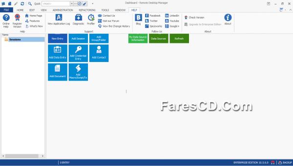 برنامج التحكم فى الكومبيوتر عن بعد  Remote Desktop Manager Enterprise 10.5.6 (2)