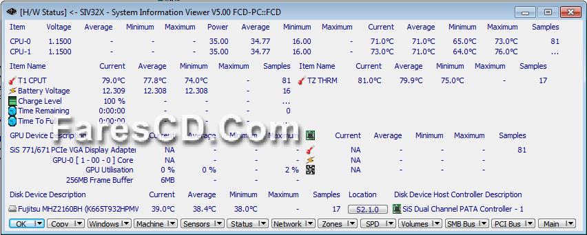 برنامج لعرض معلومات نظامك وحسابك بالتفصيل SIV (System Information Viewer) (4)