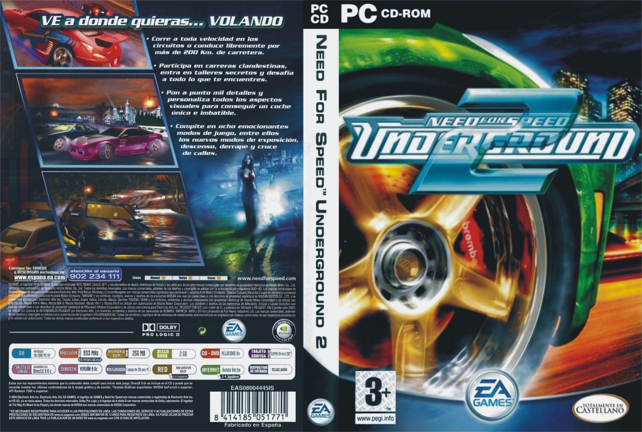 لعبة Need For Speed Underground 2 كاملة وبدون تسطيب (1)