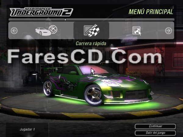 لعبة Need For Speed Underground 2 كاملة وبدون تسطيب (2)