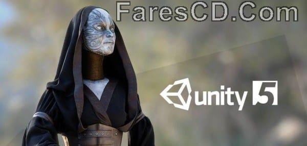 برنامج تصميم وصناعة الألعاب Unity Pro v5.3.4f1 (x64)