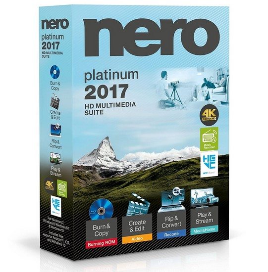 إصدار جديد من برنامج نيرو   Nero 2017 Platinum 18.0.08500