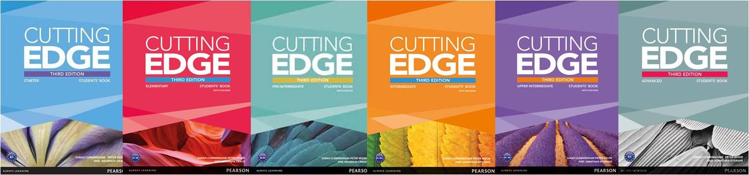 كورس الإنجليزية من لونج مان   Longman Cutting edge 3d Edition