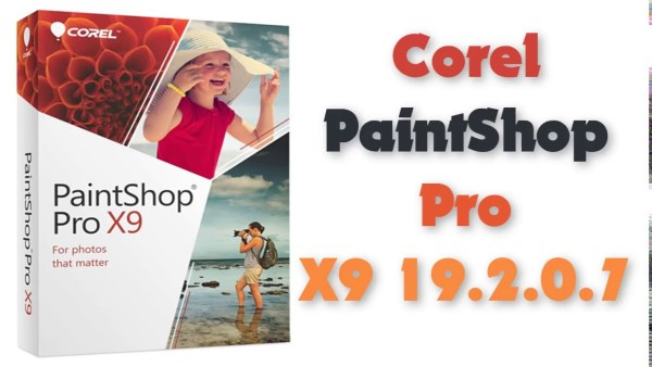 إصدار جديد من برنامج تعديل الصور   Corel PaintShop Pro X9 19.2.0.7