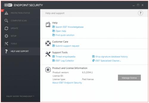 برنامج إند بوينت سيكيورتى 2017   ESET Endpoint Security 6.5.2094.1