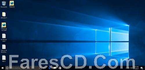 ويندوز 10 برو مفعل   Windows 10 Pro RS1 x86 March 2017 Pre-Activated