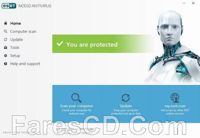 إصدار جديد من برنامج الحماية الشهير   ESET NOD32 Antivirus