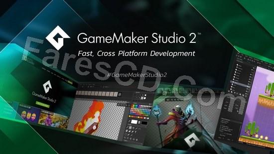 برنامج إنشاء وتصميم الألعاب   GameMaker Studio Ultimate 2.2.3.436