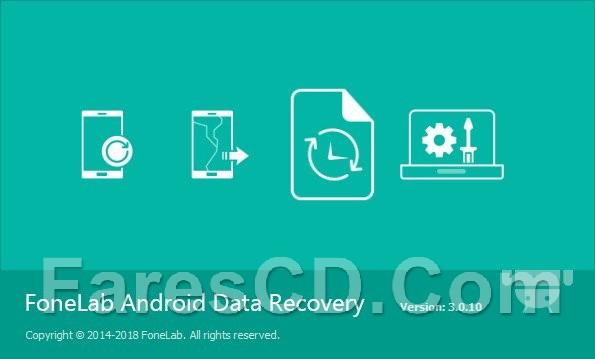 برنامج استعادة الملفات للأندرويد   FoneLab Android Data Recovery 3