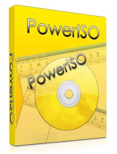 برنامج الاسطوانات الوهمية بور أيزو | PowerISO 7.4 Multilingual