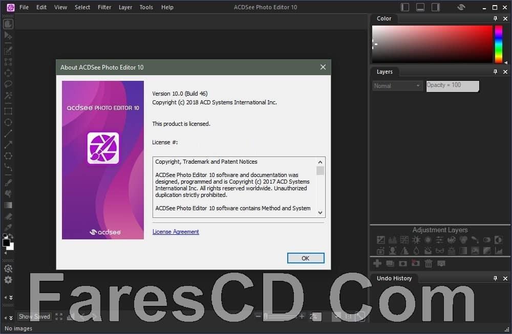برنامج تعديل الصور 2019 | ACDSee Photo Editor 10.0 Build 52