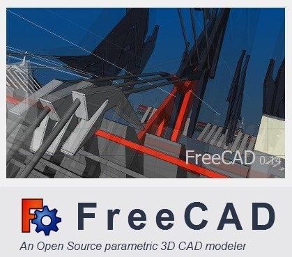 برنامج التصميم الهندسى المجانى   FreeCAD