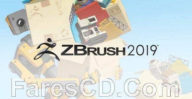 برنامج زى برش 2019 | Pixologic ZBrush