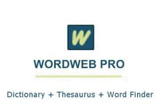قاموس المعانى والمترادفات الإنجليزية | WordWeb Pro Ultimate Reference Bundle 8.22