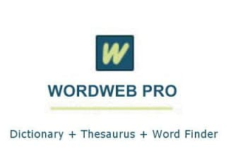 WordWeb Pro Ultimate Reference Bundle 2019 Free Download
