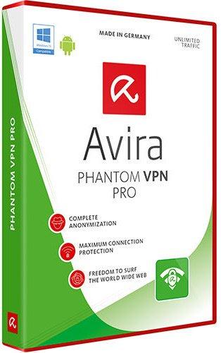 برنامج إخفاء الهوية على الإنترنت | Avira Phantom VPN Pro 2.26.1.17464