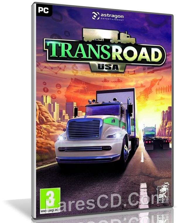 لعبة قيادة الشاحنات 2018   TransRoad USA