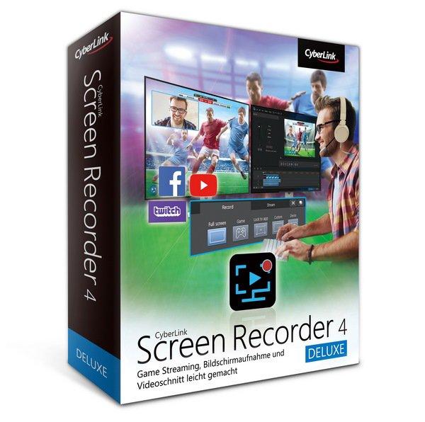 برنامج تصوير شاشة الكومبيوتر   CyberLink Screen Recorder Deluxe