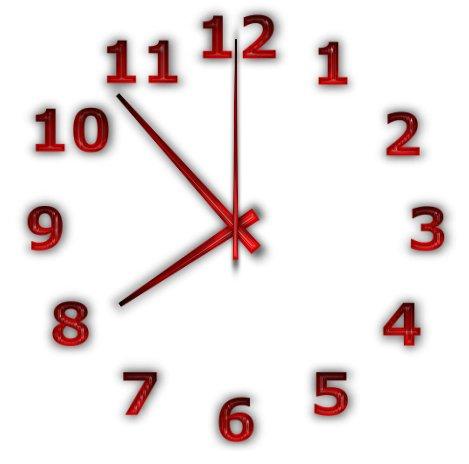 أداة عمل ساعة حائط للديسكتوب | TheAeroClock 5.11