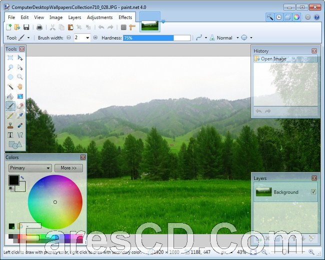 برنامج تحرير الصور المجانى   Paint.NET