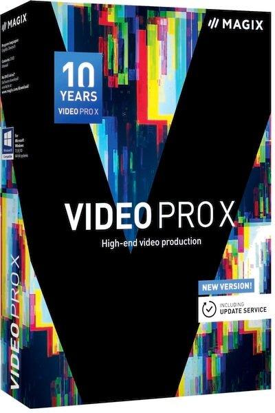 برنامج مونتاج وتحرير الفيديو 2020 | MAGIX Video Pro X11