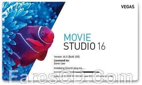 برنامج موفى ستوديو 2019   MAGIX VEGAS Movie Studio Platinum 16.0.0.142