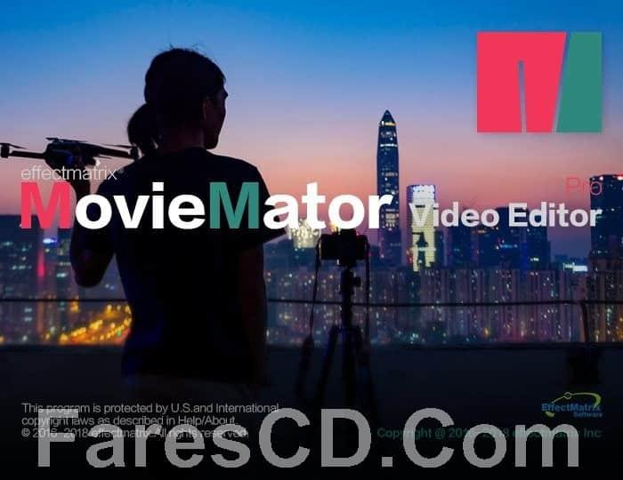 برنامج تحرير الفيديو | MovieMator Video Editor Pro
