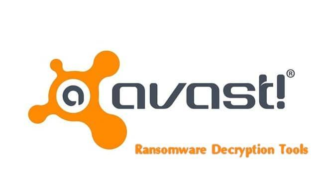 تجميعة أدوات أفاست لفك التشفير | Avast Ransomware Decryption Tools
