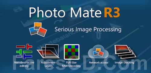 تطبيق تعديل الصور الشهير | Photo Mate R3 v3.5 build 142