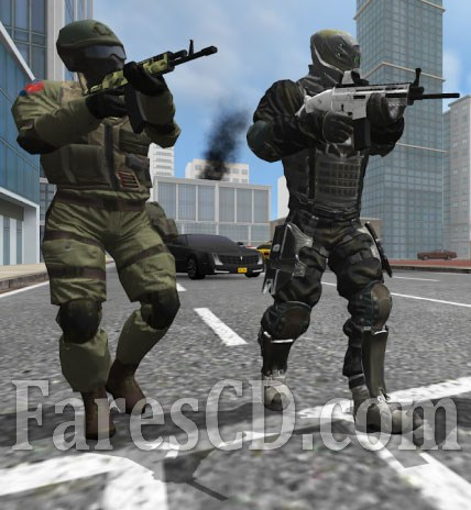 لعبة الاكشن و الاسلحة للاندرويد | Earth Protect Squad MOD v1.52b