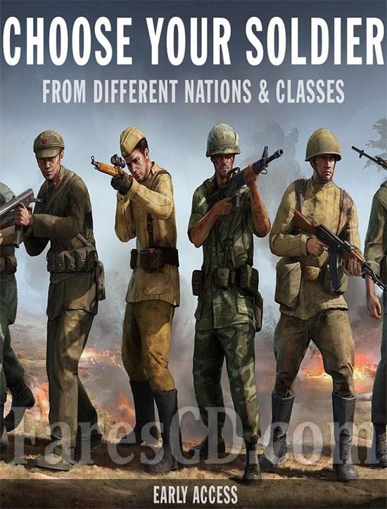 لعبة الاكشن و الحروب للأندرويد | Forces of Freedom MOD v4.4.0