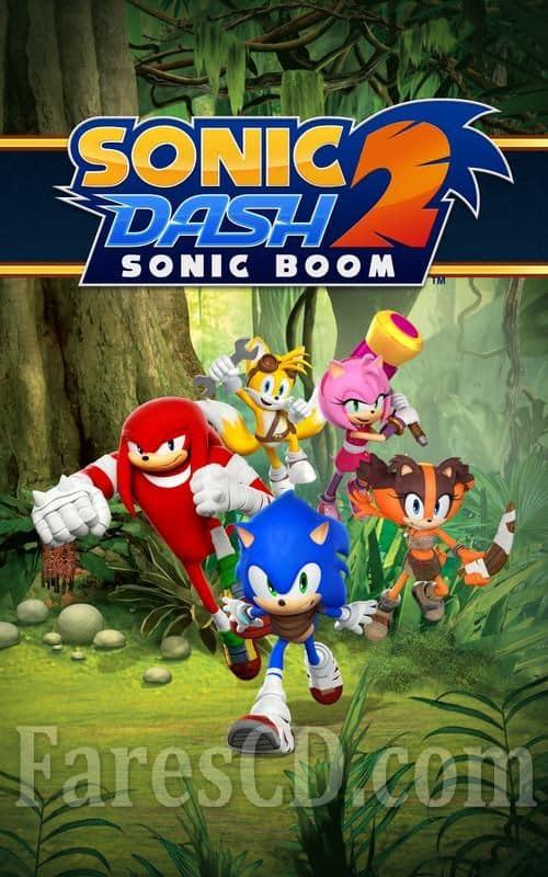 أشهر العاب التسلية للاندرويد   Sonic Dash 2 Sonic Boom MOD v1.8.0