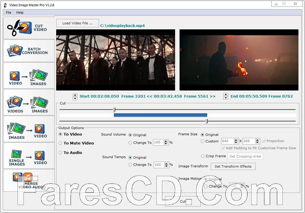 برنامج إنشاء فيديو من الصور والعكس | Video Image Master Pro