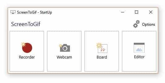 برنامج تصوير الشاشة   ScreenToGif