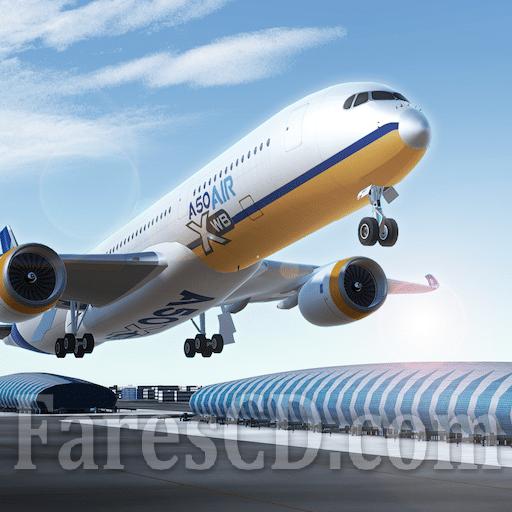 لعبة محاكاة الطيران | Airline Commander MOD v1.2.3 | اندرويد