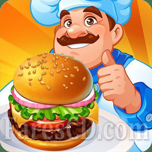 أشهر ألعاب الطبخ | Cooking Craze MOD v1.37.0 | اندرويد