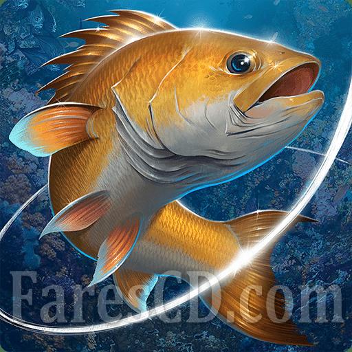 لعبة صيد السمك | Fishing Hook MOD v2.2.5 | أندرويد