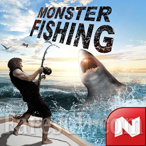 لعبة صيد السمك | Monster Fishing 2019 MOD v0.1.64 | أندرويد