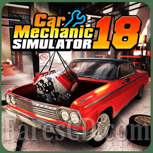 لعبة جراج السيارات | Car Mechanic Simulator 18 MOD v1.2.1 | للأندرويد