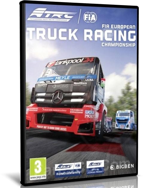 لعبة سباق الشاحنات | FIA European Truck Racing Championship