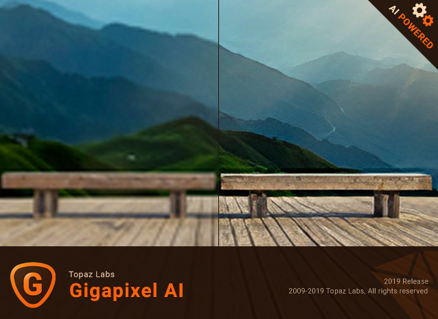 برنامج تكبير الصور الإحترافى | Topaz Gigapixel AI