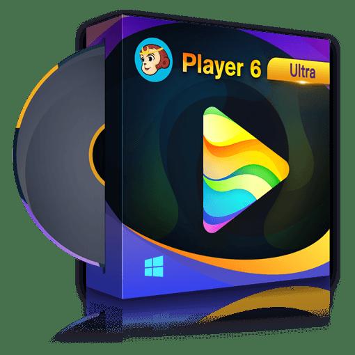 برنامج تشغيل اسطوانات الفيديو   DVDFab Player Ultra