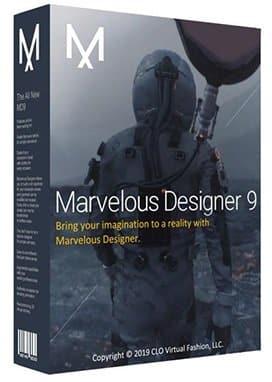 برنامج تصميم الملابس والأقمشة | Marvelous Designer 9 Enterprise