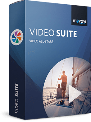 برنامج تحرير ومونتاج وتحويل الفيديو | Movavi Video Suite