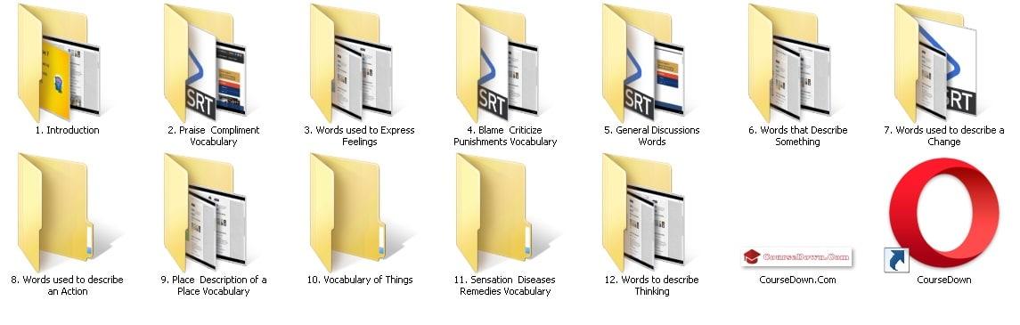 كورس اللغة الإنجليزية | English Vocabulary 70 English words picture vocabulary