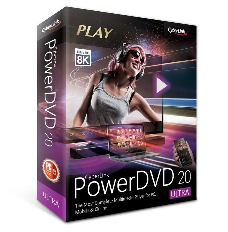 عملاق تشغيل اسطوانات ال دى فى دى | CyberLink PowerDVD Ultra 20